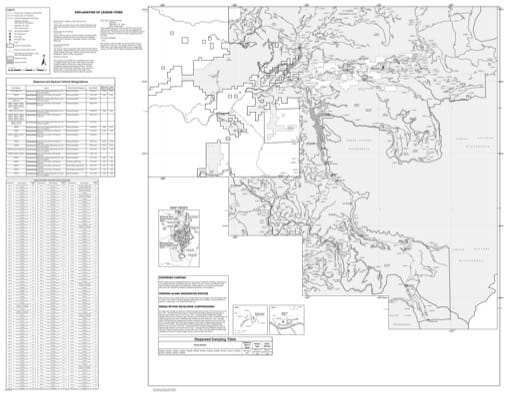 Motor Vehicle Use Map (MVUM) of the McKenzie River Ranger District (south) in Willamette National Forest (NF) in Oregon. Published by the U.S. Forest Service (USFS).