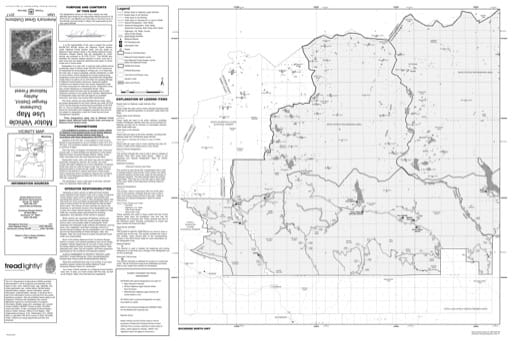 Motor Vehicle Use Map (MVUM) of Duchesne Ranger District in Ashley National Forest (NF) in Utah. Published by the U.S. Forest Service (USFS).