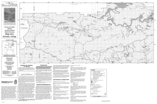 Motor Vehicle Use Map (MVUM) of Flaming Gorge Ranger District in Ashley National Forest (NF) in Utah. Published by the U.S. Forest Service (USFS).