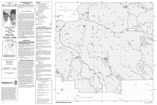 Motor Vehicle Use Map (MVUM) of Vernal Ranger District in Ashley National Forest (NF) in Utah. Published by the U.S. Forest Service (USFS).