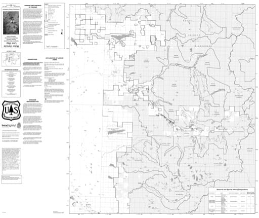 Motor Vehicle Use Map (MVUM) of Skykomish Ranger District in Mt. Baker-Snoqualmie National Forest (NF) in Washington. Published by the U.S. Forest Service (USFS).